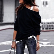Women's Off Shoulder Casual Blouse