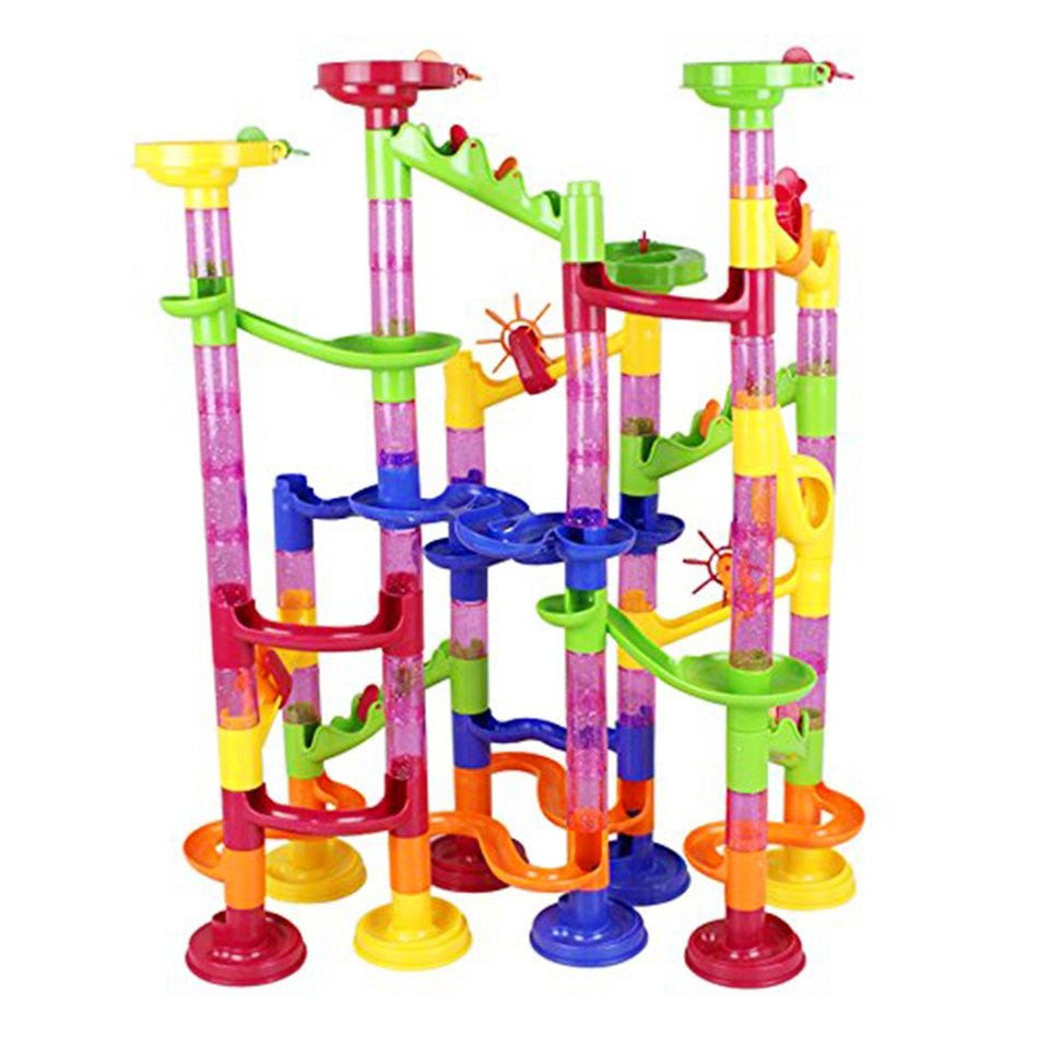 Marble Race Run Track 105pcs Familyrex