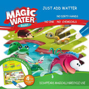WATER DRAWING COLORING BOOK