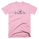 Surfbeat - Feel the Beat! Short Sleeve Tee Unisex