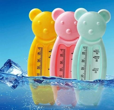 Floating Bear Water Thermometer & Bath Toy