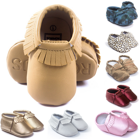 Basic Temptations Baby Moccasins - Free Shipping