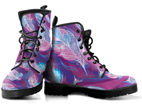 Image of Boho Feather Boots