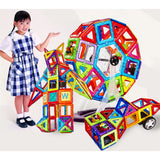 Magnies Premium - Build With Magnets - 34Pcs 66Pcs - Educational Toy