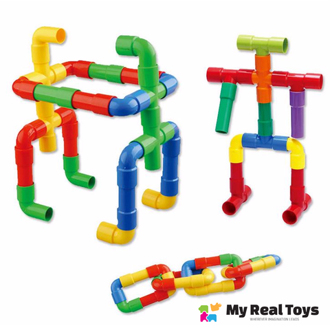 Image of Build With Pipes for All ages Giveaway
