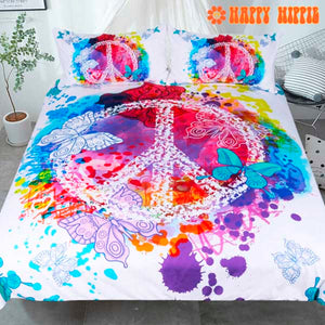 Butterfly Peace Bedding Set