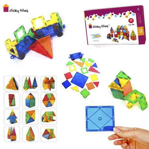 Image of Clicky Tiles®  - Premium Set - 60 Pcs