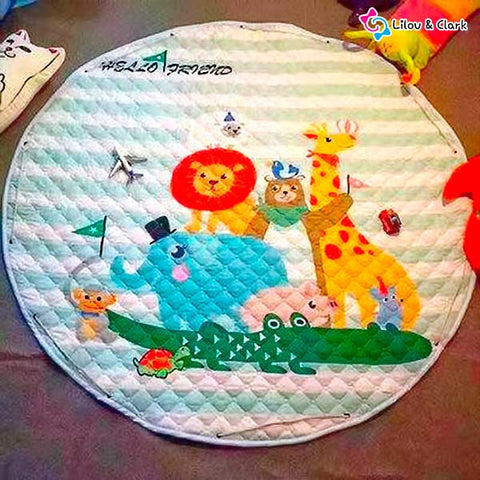 Image of Play-n-go™ Cute Mat - The Practical Play & Storage Bag