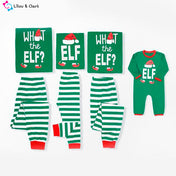 What The Elf Family Christmas PJs