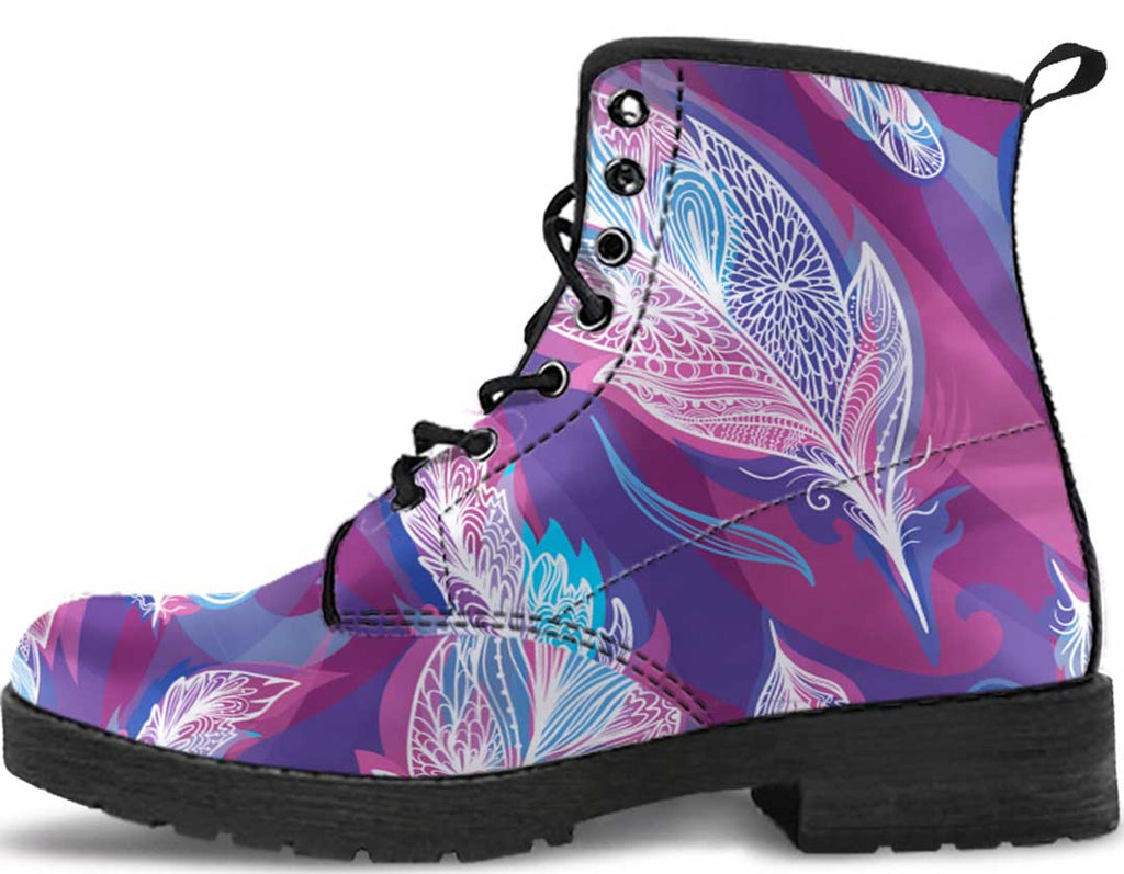 Boho Feather Boots