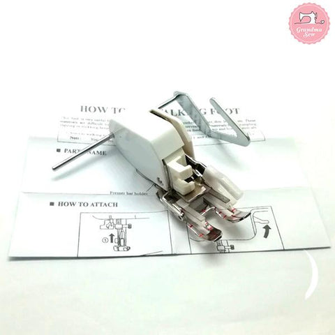Image of Open Toe Walking Foot for Low Shank Sewing Machine