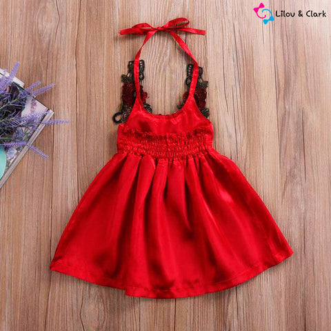 Image of Beautiful Floral Baby Girl's Formal Dress