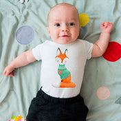 Mr. Fox Premium Screen Printed Onesie