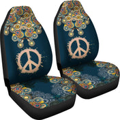 Peace & Love Car Seat Covers