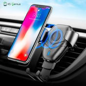 XS Genius™  - The Ultimate Wireless Charger Car Mount Phone Holder for iPhone 8 / 8 Plus