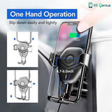 XS Genius™  - The Ultimate Wireless Charger Car Mount Phone Holder for Samsung Galaxy Note 9