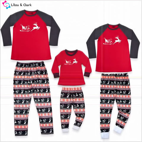 Christmas Is Here Family Pj's