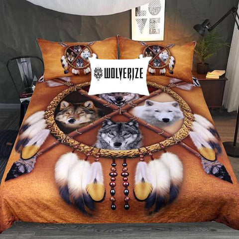 Image of Choose Your Wolf Bedding Set