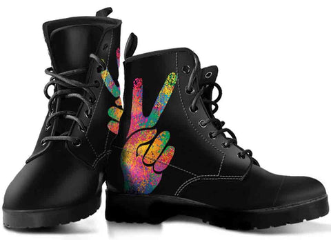 Peace Gesture Boots