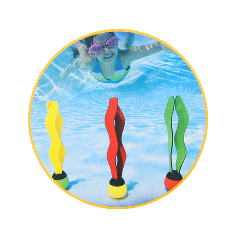Image of Colorful Diving Grab Sticks