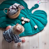 Beautiful Leaf Design Baby Play Mat