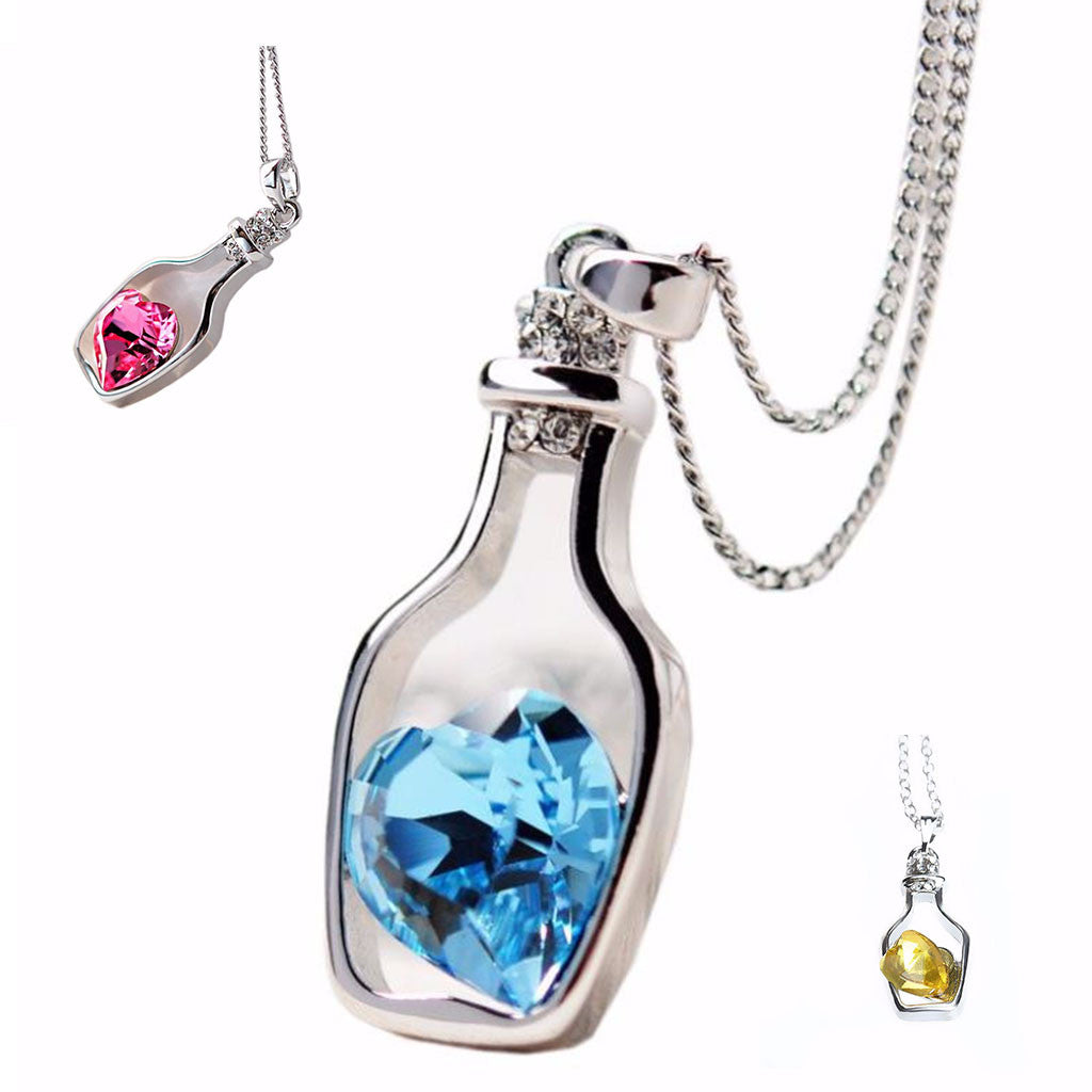 Love In A Bottle Necklace - Free + Shipping Offer