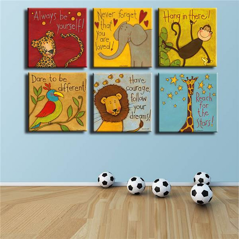 Image of Always Remember You Are Loved - Kids Room Wall Canvas FREE Offer