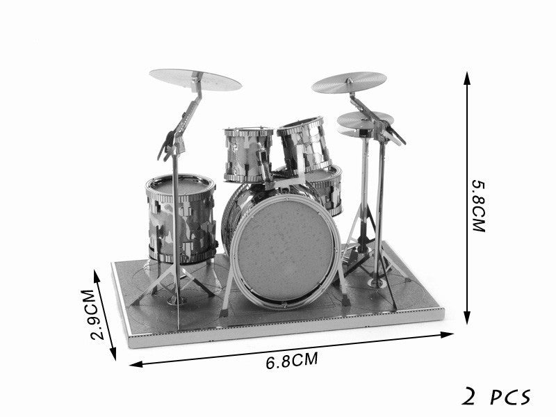 DIY 3D Musical Instruments Metal Puzzles - FREE Shipping