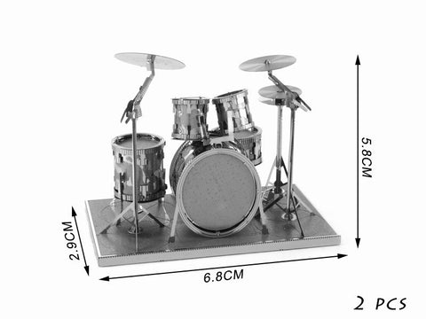 Image of DIY 3D Musical Instruments Metal Puzzles - FREE Shipping