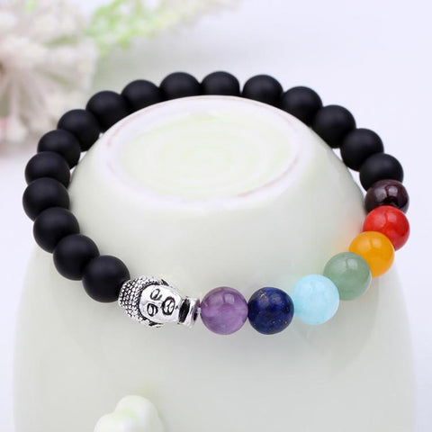 Image of 7 Chakra Balance Healing Bracelet - Buddha Limited Edition - Free Offer - $0.00