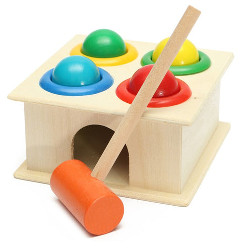 Wooden Hammer Ball Box Early Learning Toy