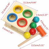 Wooden Hammer Ball Box Early Learning Toy - FREE Offer - $0.00