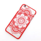 Beautiful Floral Mandala iPhone Cases