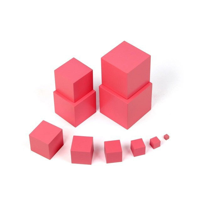 Montessori Wooden Building Blocks Educational Toy