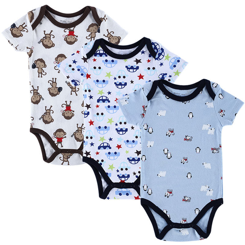 Baby Rompers - Set of 3 Pieces