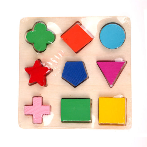 Image of Wooden Geometry 3D Puzzles - 3 Patterns - FREE Offer - $0.00