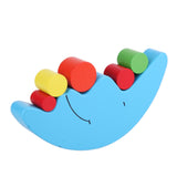 Moon Shape Balancing Wooden Building Blocks 19pcs
