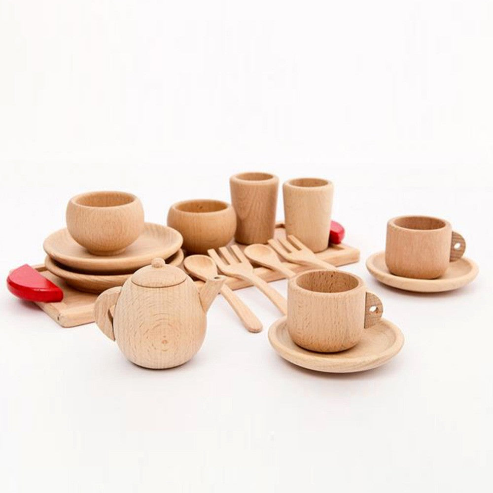 Wooden Montessori Kitchen Set Toy Familyrex