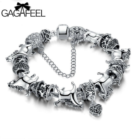 Image of Dream Horse Carousel Bracelet