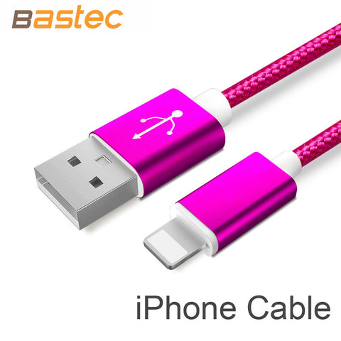 Bastec USB Data Charger Cable iPhone, Samsung, Sony