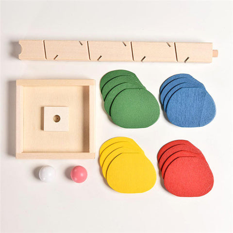 Wooden Tree Marble Ball Educational Toy