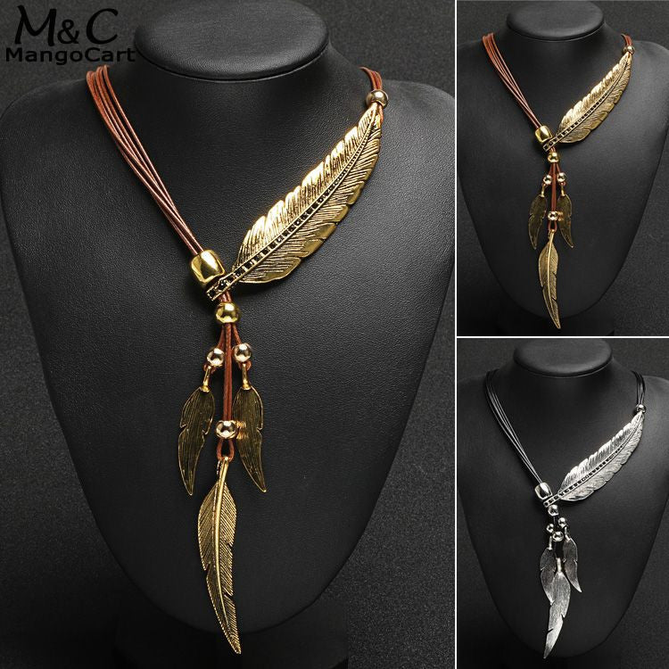 Feather Totem Necklace - Free Offer - $0.00