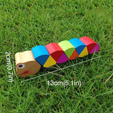 Wooden crocodile caterpillar developmental toys for kids - Free Offer - $0.00