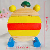 Wooden Clock Building Blocks Toy - Free Offer - $0.00