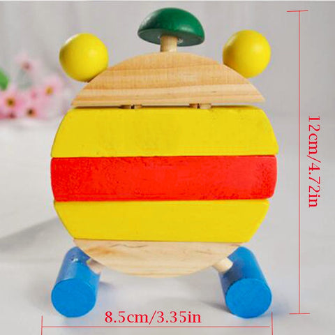 Image of Wooden Clock Building Blocks Toy - Free Offer - $0.00