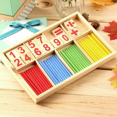 Wooden Counting Sticks Giveaway
