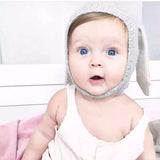 Unisex knitted rabbit  ear crochet Baby Bonnet - Free Offer - $0.00