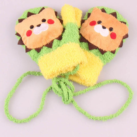 Cute animal gloves for children