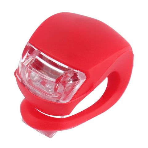 Image of Easy to Use Bicycle Front Rear LED Flash Light