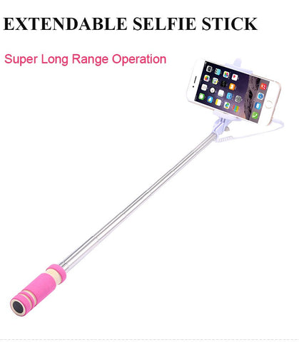 Mini Selfie Extendable Stick